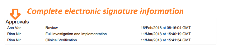 Signature manifestations are part of the exported Jira issue (record)